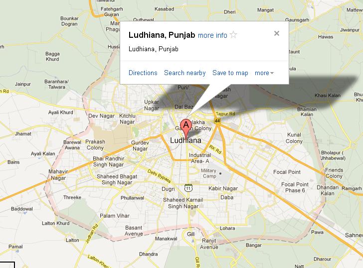 Check Ludhiana Map, Ludhiana, India